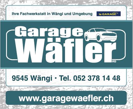 Garage Wäfler Wängi
