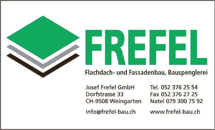 Josef Frefel - Flachdach, Fassade, Spenglerei